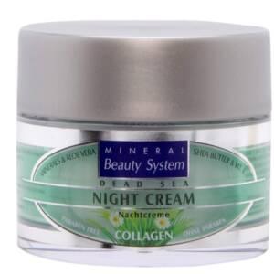 Нощен крем за лице Mineral Beauty System с колаген от 4A Natural