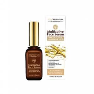 Мултиактивен серум за лице с арганово масло от 4A Natural