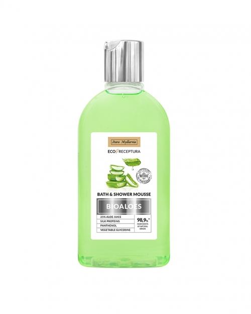 Мус за вана и душ с алое от 4A Natural