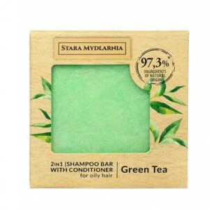 Твърд шампоан зелен чай от 4A Natural