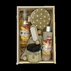 Кутия 4A Natural, подаръчна кутия, козметика за тяло.