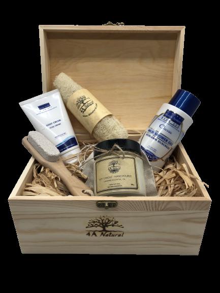 Подаръчна кутия 4A Natural , минерална козметика за тяло