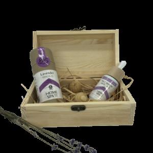 Кутия 4A Natural, натурални продукти с лавандула.