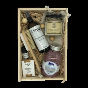Кутия 4A Natural Power of Lavender, козметични продукти за лице и тяло. Почувствай силата на Лавандулата.