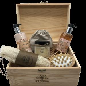 Кутия 4A Natural Sandalwood & Tobacco, козметика за тяло