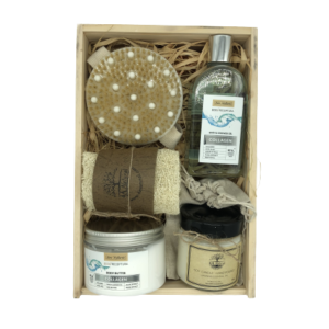 Кутия 4A Natural, козметика за тяло с Колаген. Подаръчна кутия.
