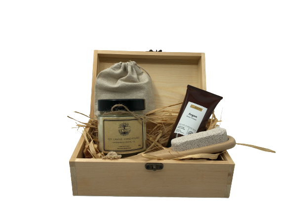 Кутия 4A Natural, подаръчна кутия , натурални продукти.